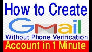 How to create gmail account, Open gmail, Make google account easy process video without phone number