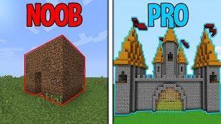 Minecraft NOOB vs. PRO: HOUSE in Minecraft / Animation