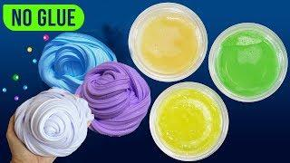 3 Ways How To Make Super Easy No Glue Slime Under 5 Minutes,Slime Masters