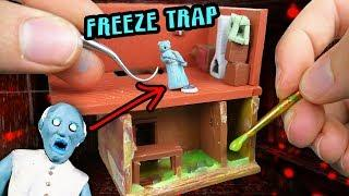 Making GRANNY'S New Secret Rooms Miniature House in POLYMER CLAY!