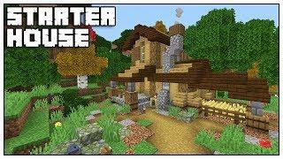Minecraft 1.14 Starter House Tutorial