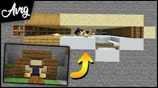 Make a Minecraft house with ONE BLOCK TALL only!