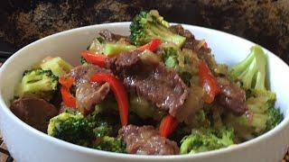 Pepper Beef and Broccoli in the GeekChef Electric Pressure Cooker
