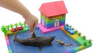 Rain, Rain Go Away Song | How To Make House & Fish Pond with Mad Mattr for Kids