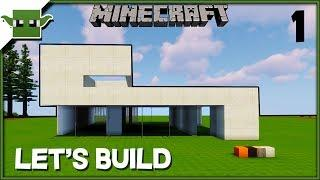 Minecraft Lets Build a Modern House - 'Pheasants' Ep1
