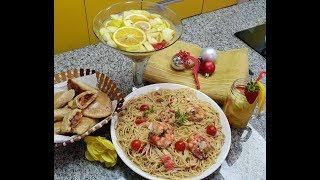 (Christmas Recipe 3) Creamy Seafood Pasta, Naija Meat Pie and White Wine Sangria