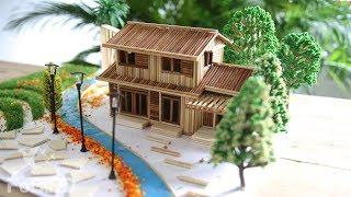 Building Super Stick Dream House - Super Garden Villa and Mansion