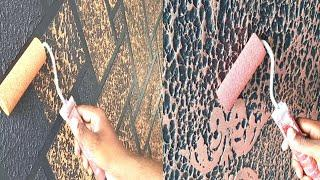 5 wall painting ideas for texture designs exterior and interior
