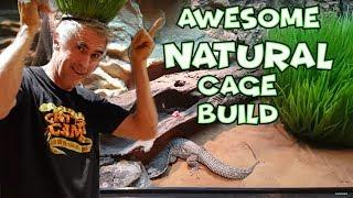 AWESOME NATURAL CAGE BUILD - CrittaCam