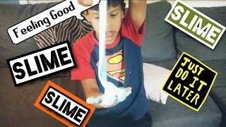 How to make slime with glue and soap at home! Kids fun video.