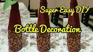 Bottle decoration,Recycle waste bottle,DIY Bottle decor,anvesha,s creativity
