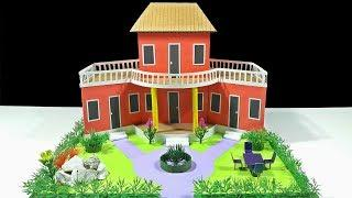 How To Make Beautiful Dream House With Cardboard DIY Dream House