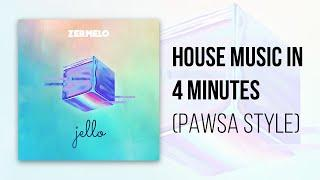 How To Make House Music In 4 Minutes - PAWSA Style! - ZermeloMusic.com