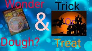 Reviewing Wonder Dough & candy/Trick or Treat!(include gymnastic)/gymnast_ Micky