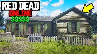 THIS HOUSE CAN MAKE YOU $$$ in Red Dead Online! RDR2 Unlimited Money Method! RDR2 Online
