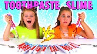 Don't Choose the Wrong Toothpaste Slime Challenge!!