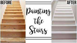 HOME RENOVATION | ATTIC MASTER BEDROOM | PAINTED THE STAIRS | PT. 7