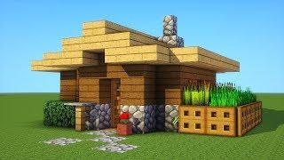 Minecraft: How To Build A Small Survival House Tutorial