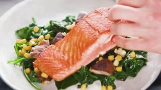 Seared Salmon with Summer Vegetables | 40 Best-Ever Recipes | Food & Wine