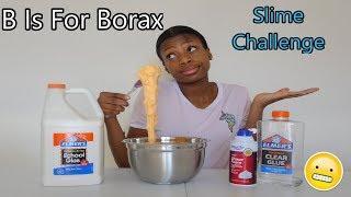 Making Slime In Alphabetical Order Slime Challenge! Did It Work?!!