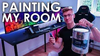 Painting My Room - Improving My PC Gaming Setup
