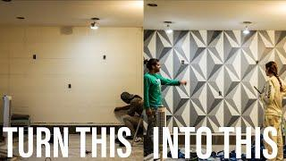 Painting a Wall Mural (Time-lapse)