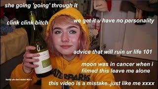 getting wine drunk and giving bad advice at 2am