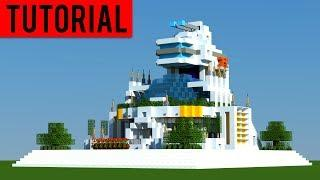 Minecraft: How To Build a FUTURISTIC Village / Modern House Tutorial [ How to make ] 2018