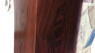 Veety wood grains application process|asian paints mixing colour|wood grains