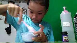 Make slime with (colour purple)