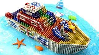 DIY How To Make Beautiful Yacht Of Surprise Balls (SB) With Magnetic Balls ???? Satisfaction 100%