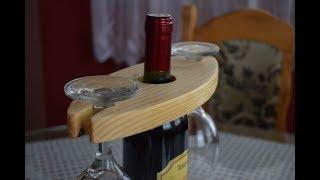 Making Wine Glass Holder