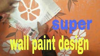 Super wall paint design Nazim