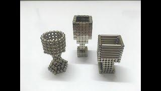Magnetic Ball or Neodymium Magnet Tutorial - Wine Cups