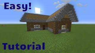MInecraft Tutorial -Casa/House - Tutorial how to make a house in minecraft(CASA)#minecraft #tutorial