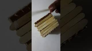 How to make house with wood stick