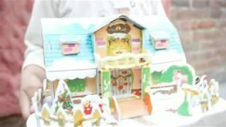 How to make 3d puzzle house chrismas piddaspy