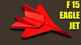 The Eagle Jet Paper Airplane