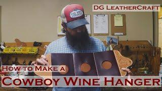 How to Make a Cowboy Wine Hanger