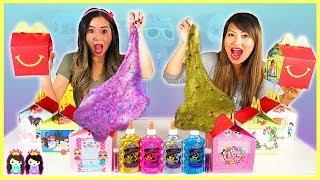 Don't Choose the Wrong DIY Happy Meal Slime Challenge!
