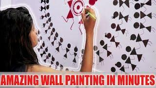 "DIY WALL PAINTING "" VERY EASY "" 