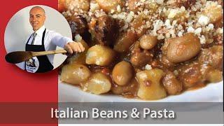 Italian Beans and Pasta | Pasta e Fagioli Recipe -- Better than Olive Garden!
