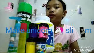 How to make unicorn ???? slime