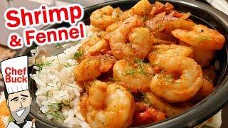 Shrimp and Fennel Recipe for Fancy People