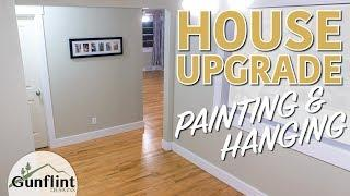 Painting & Hanging Doors & Trim | Home Renovation Project
