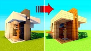 Minecraft How To Build A Survival Starter House Tutorial 11