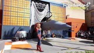 Captain Marvel at Disney California Adventure! Food & Wine and more!