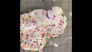 How to make birthday cake slime