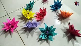 How to make paper flower by @rt House | Art House Paper flower DIY