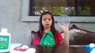 Slime!!!!!!(PAANO GUMAWA NG SLIME IN 2 INGREDIENTS)
